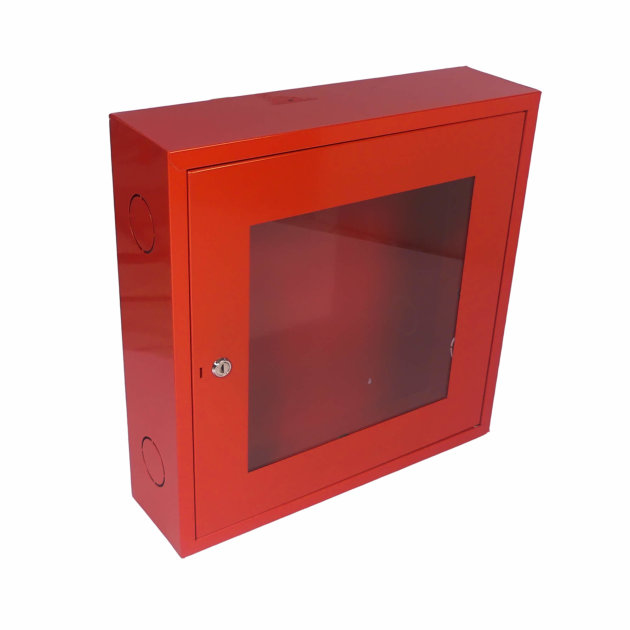 Wall hydrant cabinet HO-2, with glass door and locking lock.