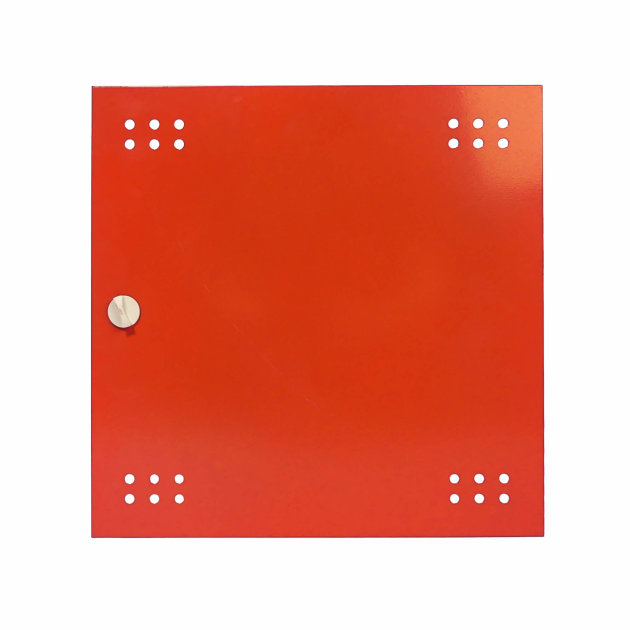 Door for wall hydrant cabinet type HO-1, full with plastic lock.