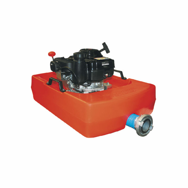 Floating Pump Poseidon can be used for Fire interventions in flooded areas. Petrol engine Honda GXV 160.