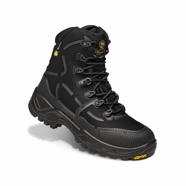 Water-resistant textile and micro-injection boots. Gore-Tex lining.